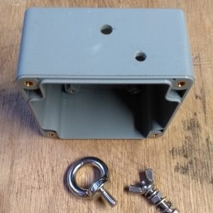 endFed Behuizing IP65 82x80x55 gaten trekontlasting