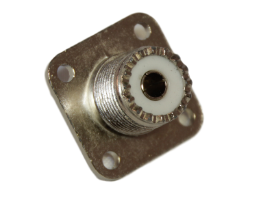PL connector chassisdeel vierkant