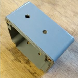 IP65 ABS behuizing 82x80x55, trekontlasting
