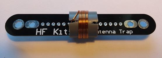 Antenne trap spoel