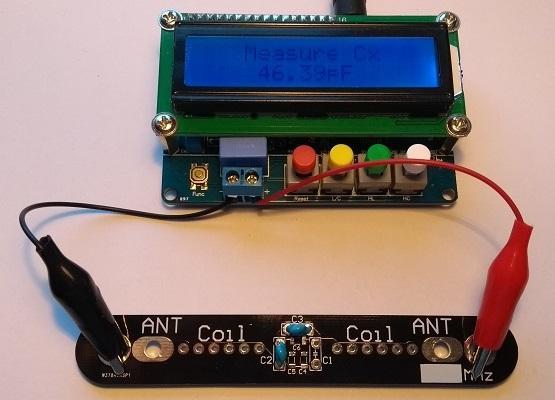 meten antenne trap condensator