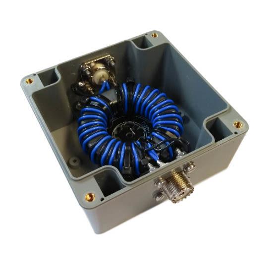 1 - 30 MHz Mantelstroomfilter