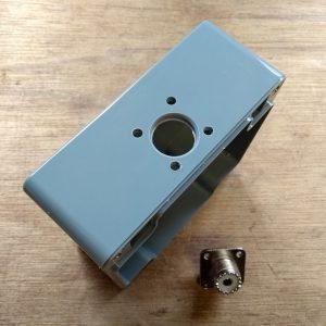 Handleiding 1:1 BalUn 800 Watt behuizing SO239