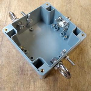 Handleiding 1:1 BalUn 800 Watt behuizing RVS