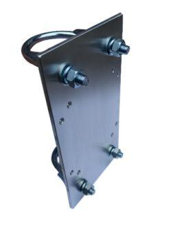 Bevestigingsplaat voor 100x100x55mm behuizing