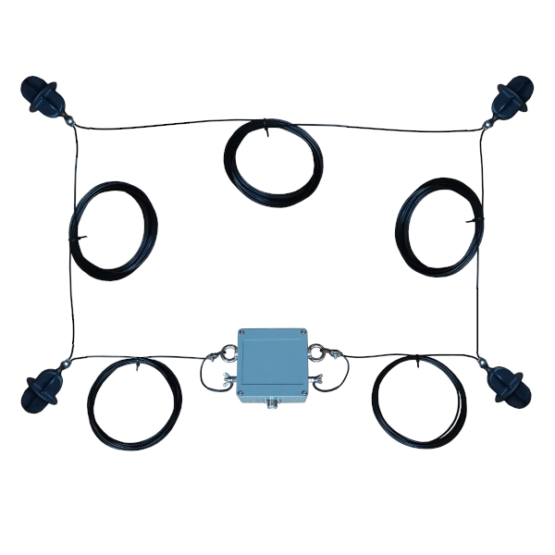 15 meter Quadloop antenne